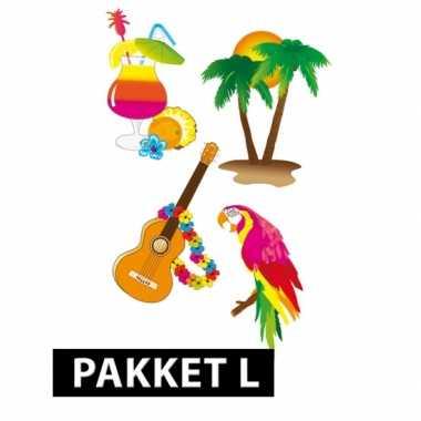 Feestwinkel |  Hawaii versiering en feestartikelen pakket groot morge
