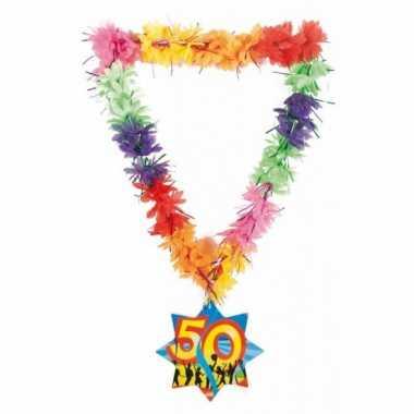 Hawaiikrans sarah 50 jaar