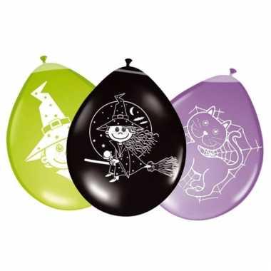 Heksen ballonnetjes 8x