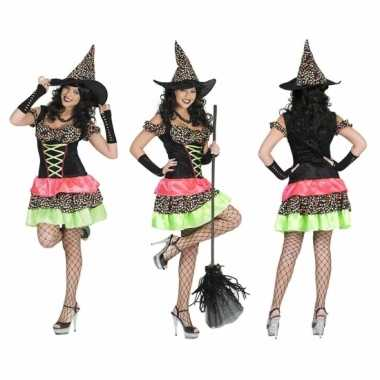 Feestwinkel | heksenjurk met hoed voor dames morgen amsterdam