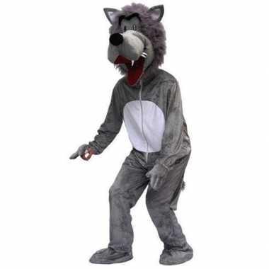 Heren kostuum wolf