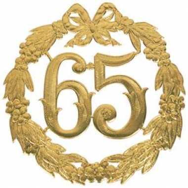 Feestwinkel | jubileum cijfer 65 jaar morgen amsterdam
