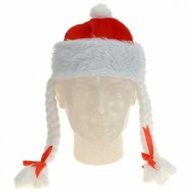 Feestwinkel | kerstmuts met vlechtjes morgen amsterdam