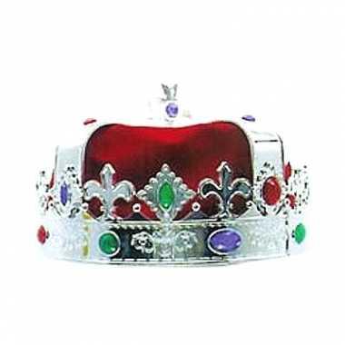 Konings kroon zilver