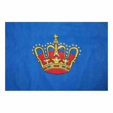 Feestwinkel | koningsvlag voor kinderfeestje 150 x 90 morgen amsterda