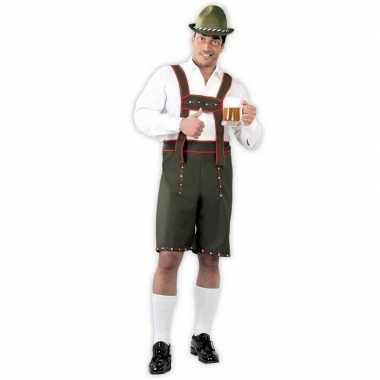 Feestwinkel | lederhosen verkleedpak voor heren morgen amsterdam