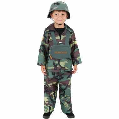 Leger soldaten kleding kind