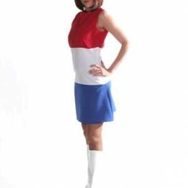 Feestwinkel    Nederlandse vlag jurk dames morgen Amsterdam
