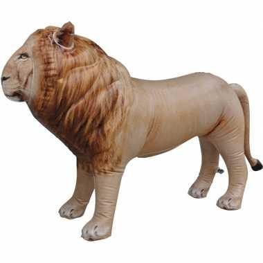 Feestwinkel | opblaas leeuw dieren 60 cm realistische print morgen am