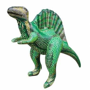 Feestwinkel |  Opblaas Spinosaurus dino groen 76 cm morgen Amsterdam