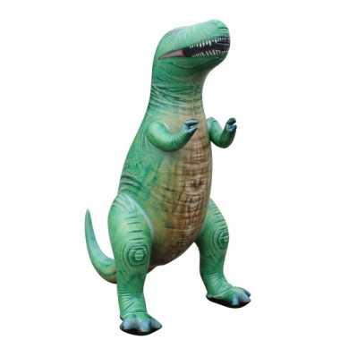 Feestwinkel |  Opblaas T-Rex dino groen 152 cm morgen Amsterdam