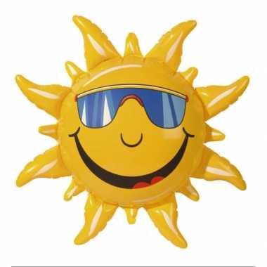 Feestwinkel   opblaasbare zonnetjes 60 cm morgen amsterdam