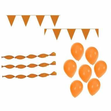 Feestwinkel | oranje koningsdag versiering feestpakket morgen amsterd
