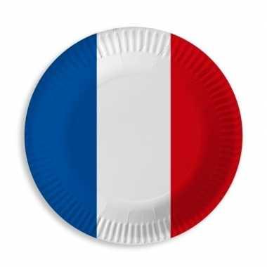 Feestwinkel | papieren frankrijk bordjes 10 st morgen amsterdam