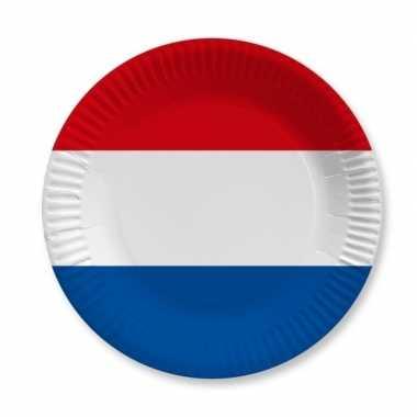 Feestwinkel | papieren holland bordjes 20 st morgen amsterdam