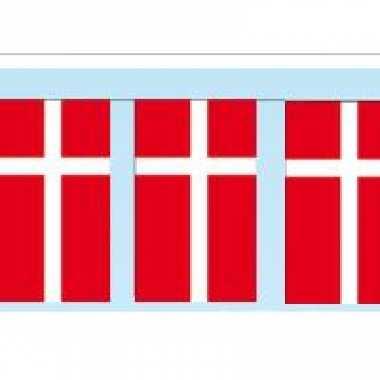 Papieren vlaggenlijn denemarken