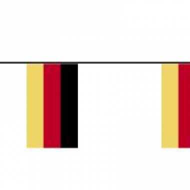 Feestwinkel | papieren vlaggenlijn duitsland morgen amsterdam