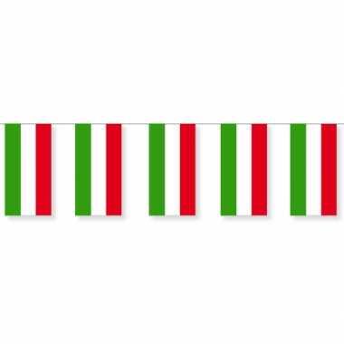 Papieren vlaggenlijn hongarije