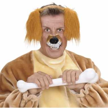 Plastic neus van een hond