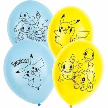 Feestwinkel | pokemon ballonnen 12 stuks morgen amsterdam