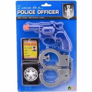 Feestwinkel | politieset verkleed accessoire voor kinderen morgen ams