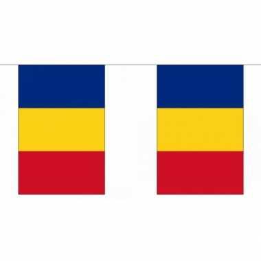Polyester roemenie vlaggenlijn