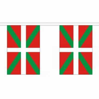Polyester vlaggenlijn baskenland