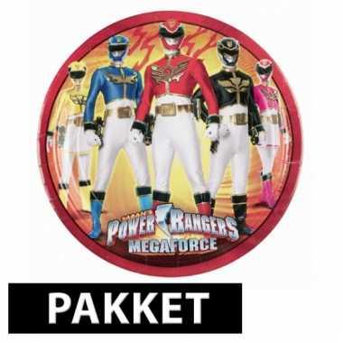 Feestwinkel    Power Rangers feestartikelen pakket morgen Amsterdam