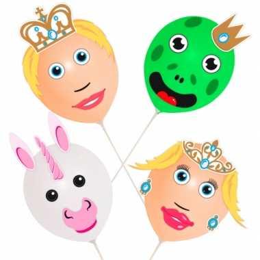 Prins en prinses ballonnetjes