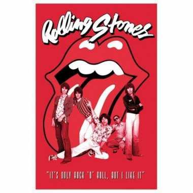 Feestwinkel |  Rolling Stones band maxi poster 61 x 91,5 cm morgen Am