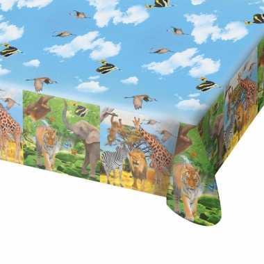 Feestwinkel | safari/jungle thema tafelkleed 130 x 180 cm morgen amst