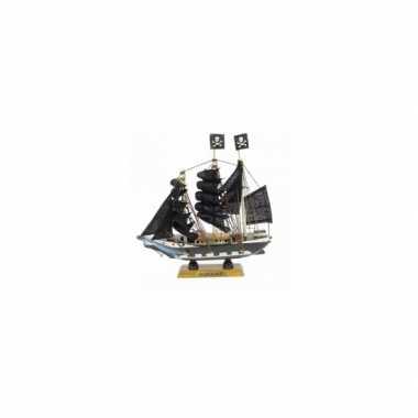 Feestwinkel | schaalmodel piratenschip 16 cm morgen amsterdam