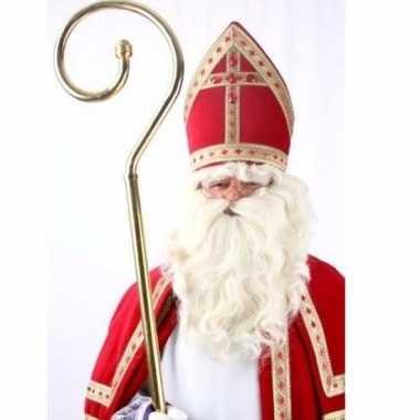 Sinterklaas pruik met baard 10096108