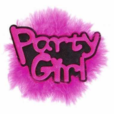 Feestwinkel | speldje party girl vrijgezellen team morgen amsterdam