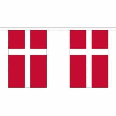 Stoffen vlaggenlijn denemarken 3 meter