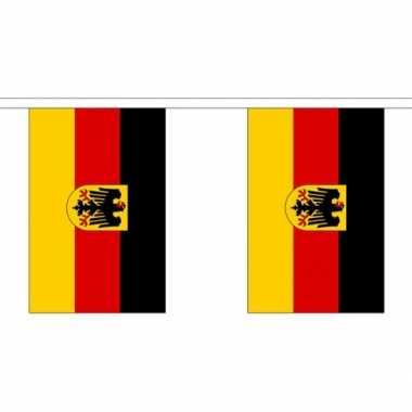 Feestwinkel   stoffen vlaggenlijn duitsland 3 meter morgen amsterdam