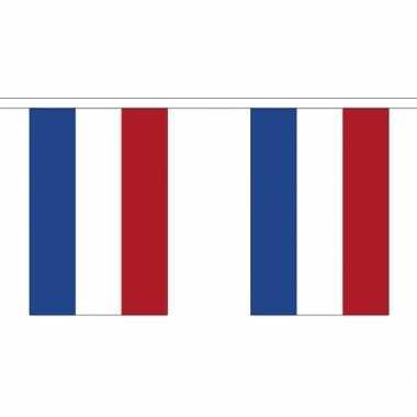 Stoffen vlaggenlijn nederland 3 meter