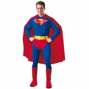Superman kostuum volwassenen