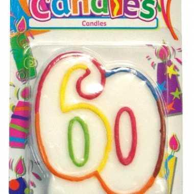 Verjaardagskaars 60 jaar