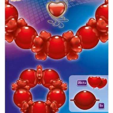 Feestwinkel |  Vrolijke ballonnen slinger Liefde morgen Amsterdam