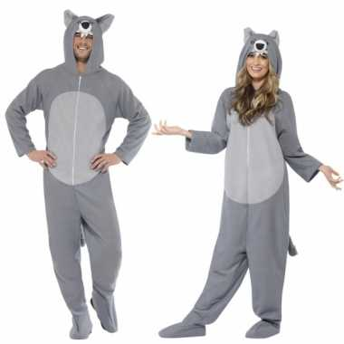 Wolf huispak grijs