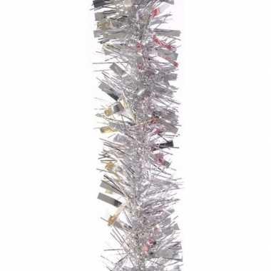 Feestwinkel | zilveren feestslinger 200 cm morgen amsterdam