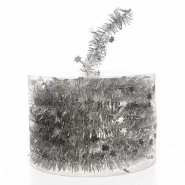 Feestwinkel | zilveren feestslinger 700 cm morgen amsterdam