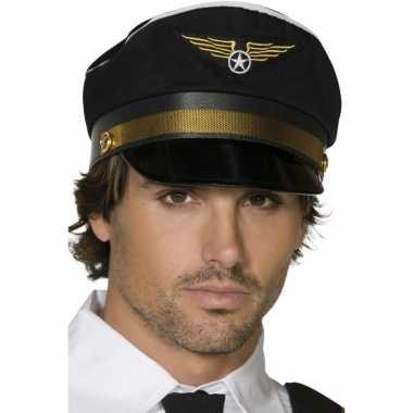Zwarte piloten pet
