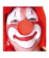 100x stuks carnaval neus neuzen rood