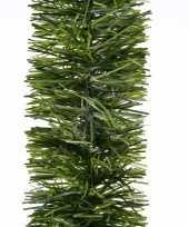 10x kerst lametta guirlandes groen 270 cm kerstboom versiering decoratie