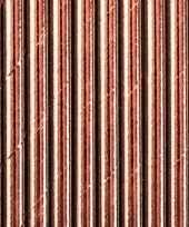 10x rosegouden feest rietjes 11 cm