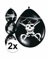 16x piraten ballonnetjes
