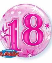 18 jaar geworden folie ballon 55 cm met helium 10089063