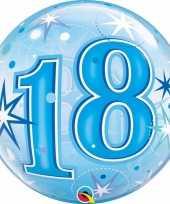 18 jaar geworden folie ballon 55 cm met helium